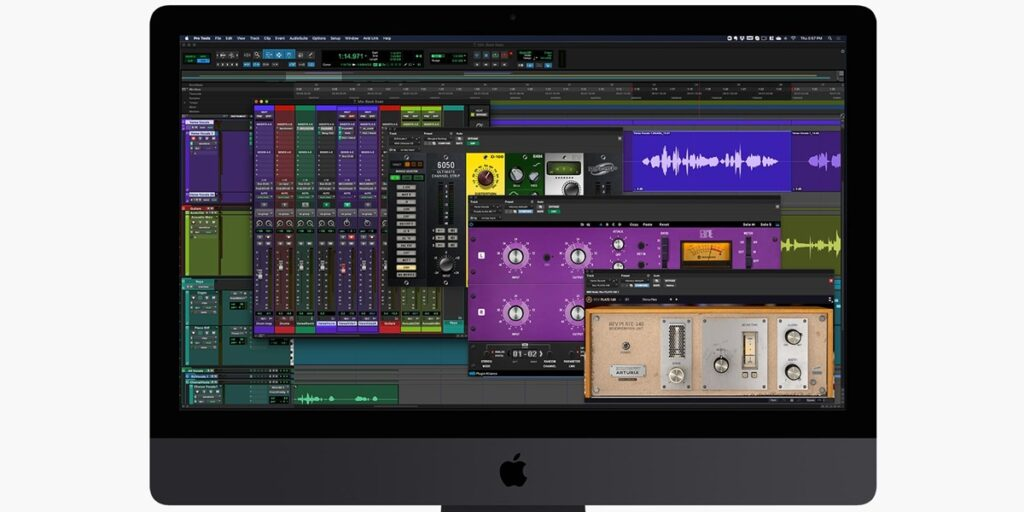 Hybrid Engine at work in Pro Tools Mobile 1024x512 Avid Pro Tools | Carbon